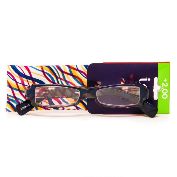 ICU Eyewear Assorted Womens Readers +2.00