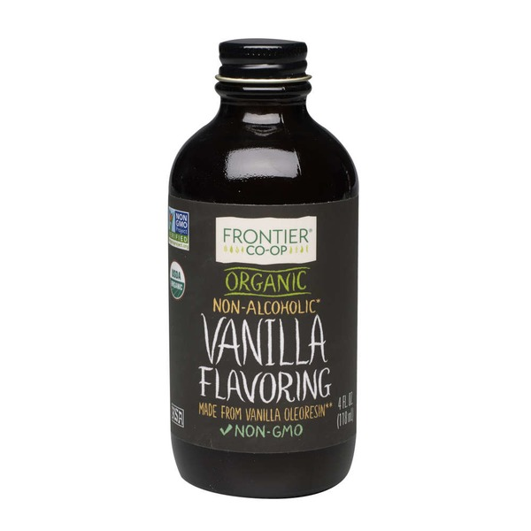 Frontier Natural Products Co-op Frontier Organic Vanilla Flavoring