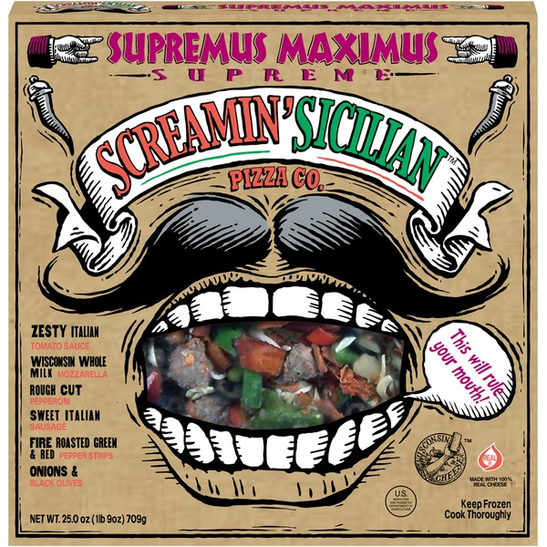 Screamin' Sicilian Supremus Maximus Supreme Pizza