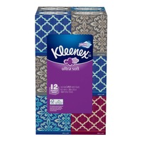 Kleenex Ultra Soft 3-Ply Facial Tissues