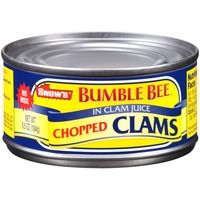 Snow's Chopped in Clam Juice Clams