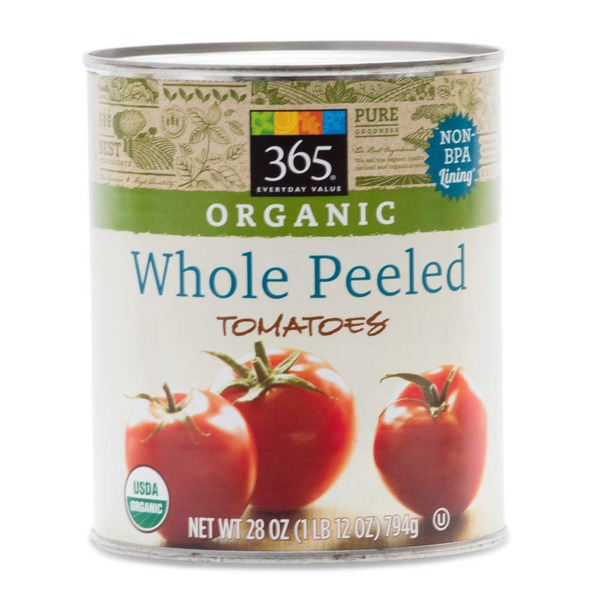365 Organics Whole Peeled Tomatoes