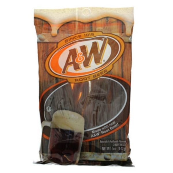 O Kenny's A&W Licorice Twists