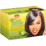 African Pride Olive Miracle Regular Deep Conditioning Anti-Breakage No-Lye Relaxer