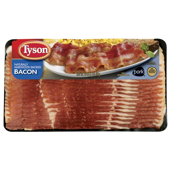 Tyson   Bacon Hardwood Smoked Bacon