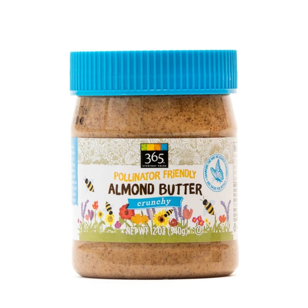 365 Everyday Almond Butter Pollinator Friendly Crunchy