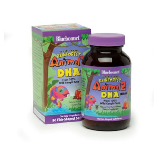 Bluebonnet Nutrition Animalz DHA From Wild Caught Tuna