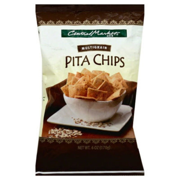 Central Market Multigrain Pita Chips
