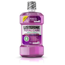 Listerine Total Care Anticavity Mouthwash For Bad Breath, Fresh Mint, 250 ml