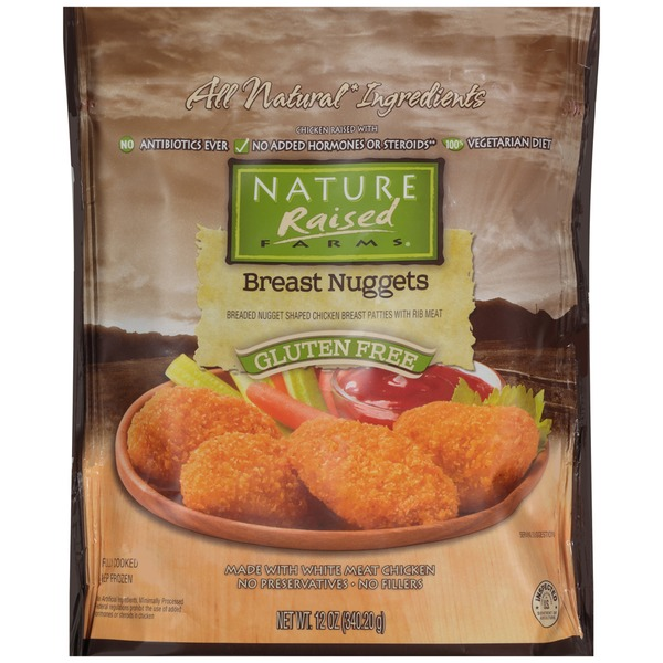 Nature Raised Farms Gluten Free Breast Nuggets