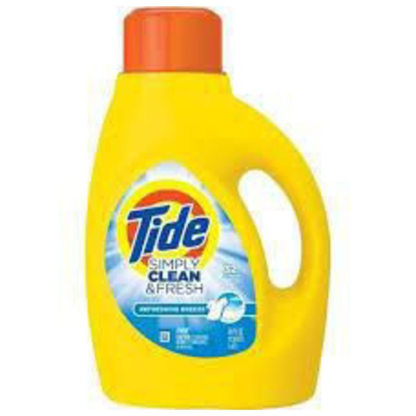 Tide Simply Clean & Fresh HE Liquid Laundry Detergent, Daybreak Fresh Scent, 32 Loads 50 Fl Oz  Laundry