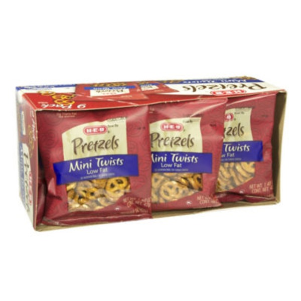 H-E-B Mini Twist Pretzels Multipack