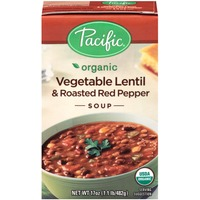 Pacific Organic Vegetable Lentil & Roasted Red Pepper Soup