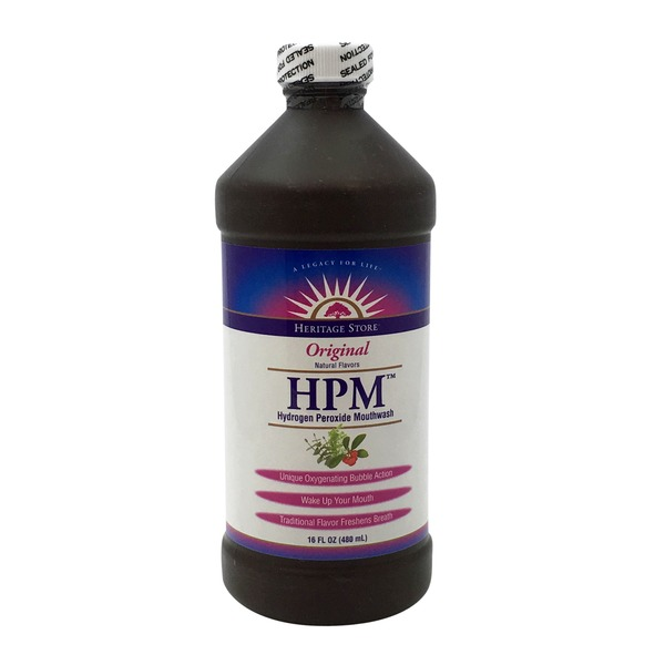 Heritage Store Hydrogen Peroxide Mouthwash