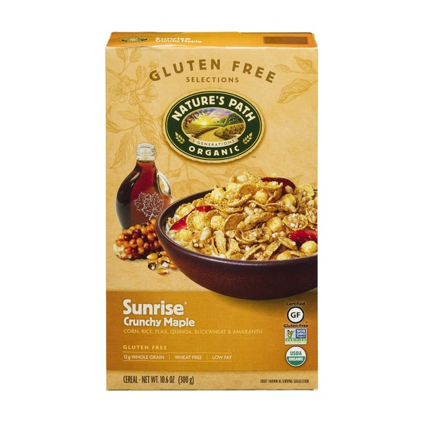 Nature's Path Organic Cereal Sunrise Crunchy Maple