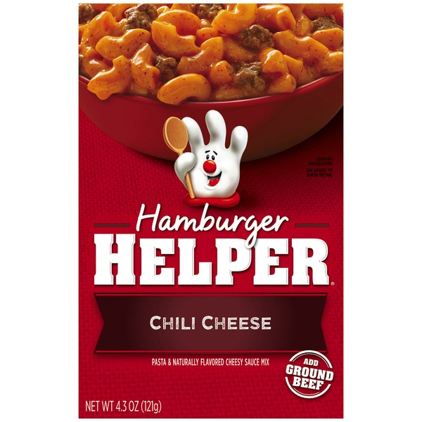 Betty Crocker Chili Cheese Hamburger Helper