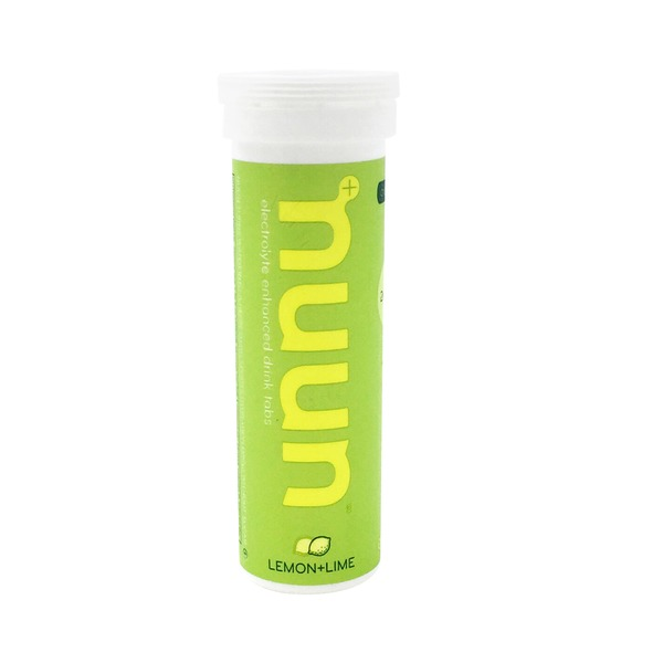 Nuun Electrolyte-Enhanced Lemon+Lime Sports Drink Tabs