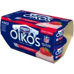 Oikos Strawberry Traditional Whole Milk Greek Yogurt, 5.3 oz, 4 ct