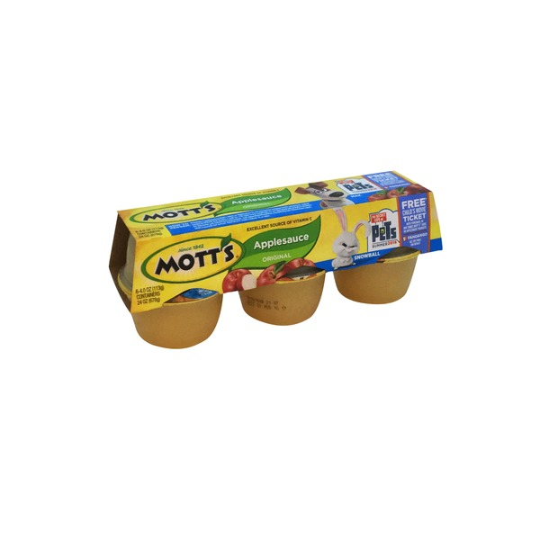 Mott's Original Apple Sauce Cups