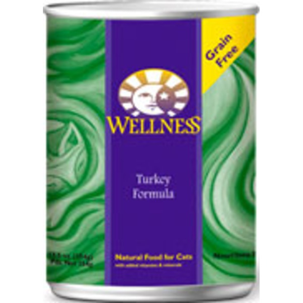 Wellness Adult Turkey Canned Cat Food