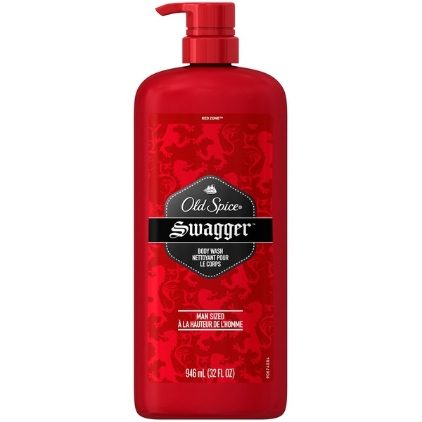 Old Spice Red Zone Old Spice Red Zone Swagger Scent Men's Body Wash 32 Fl Oz Personal Cleansing