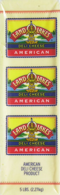 Land O Lakes Pasturized White American Cheese Deli Sliced