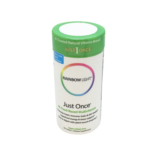 Rainbow Light Rainbow Just Once Food-Based Multivitamin - 60 CT