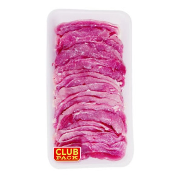 Market Thin Sliced Pork For Milanesa