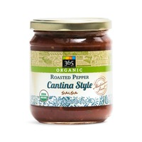 365 Organic Cantina Style Roasted Pepper Salsa