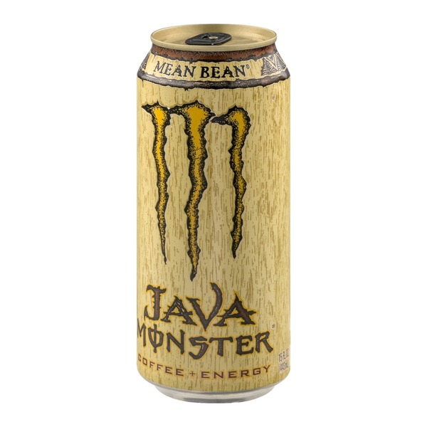 Monster Coffee + Energy Java Mean Bean