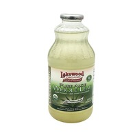Lakewood Whole Leaf Pure Aloe With Lemon Juice