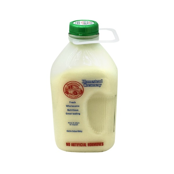 Homestead Creamer Inc. Non Fat Milk