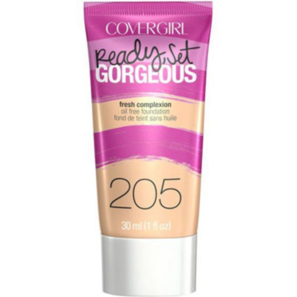 CoverGirl Ready Set Gorgeous COVERGIRL Ready, Set Gorgeous Foundation, Natural Beige  1 fl oz (30 ml) Female Cosmetics