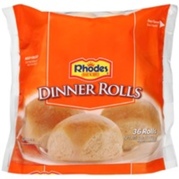 Rhodes White Texas Frozen Rolls Dough