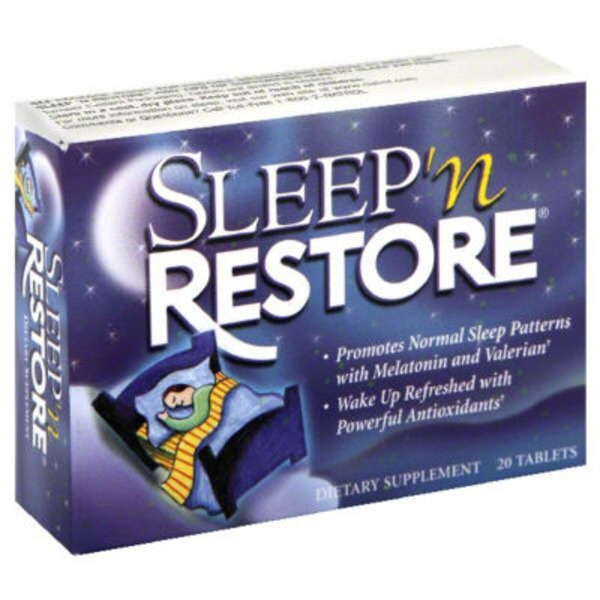 Natrol Sleep 'n Restore Dietary Supplement Tablets - 20 CT