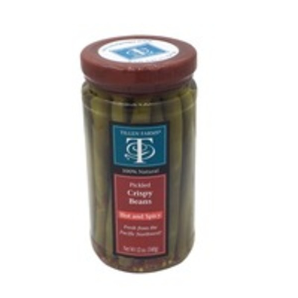 Tillen Farms Hot and Spicy Crispy Pickled Beans
