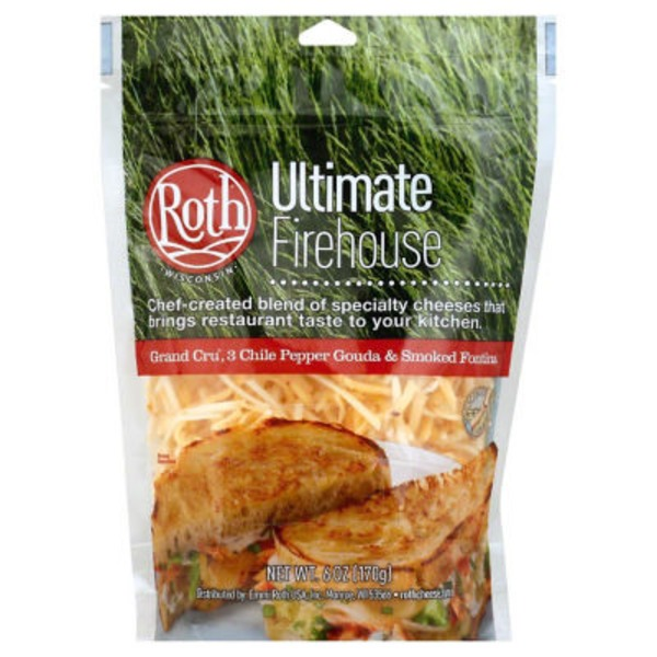 Roth Ultimate Firehouse Shredded Blend Cheese