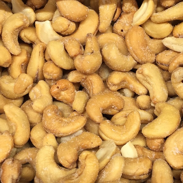 Sunshine Nut Company Roasted Salted Cashews, Bulk