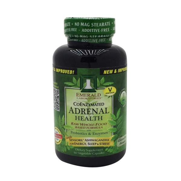 Emerald Cove Adrenal Health Raw Whole Food Based Formula