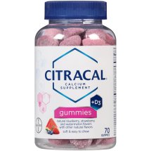 Citracal Calcium+D3 Gummies, 70 Ct
