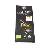 Pacari Raw 100% Cacao Chocolate Bar