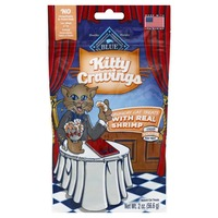 Blue Buffalo Cat Treats, Natural, with Real Shrimp