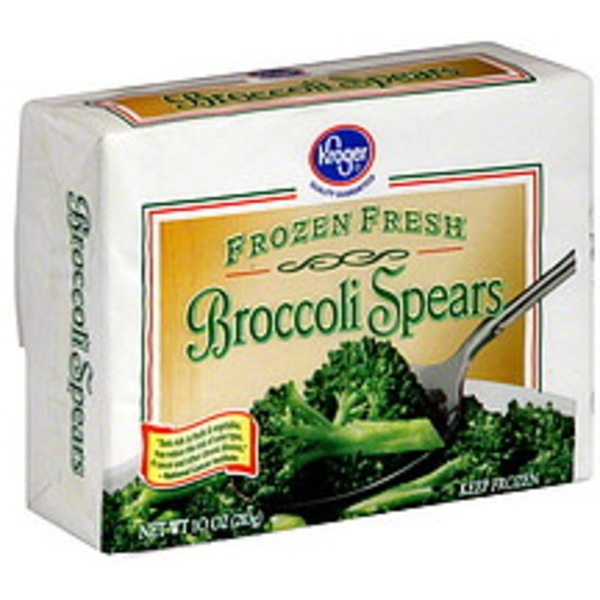 Kroger Broccoli Spears