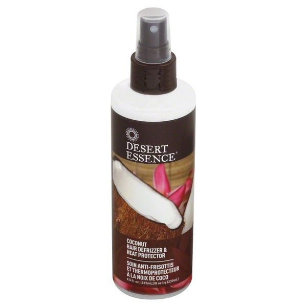 Desert Essence Coconut Hair Defrizzer & Heat Protector