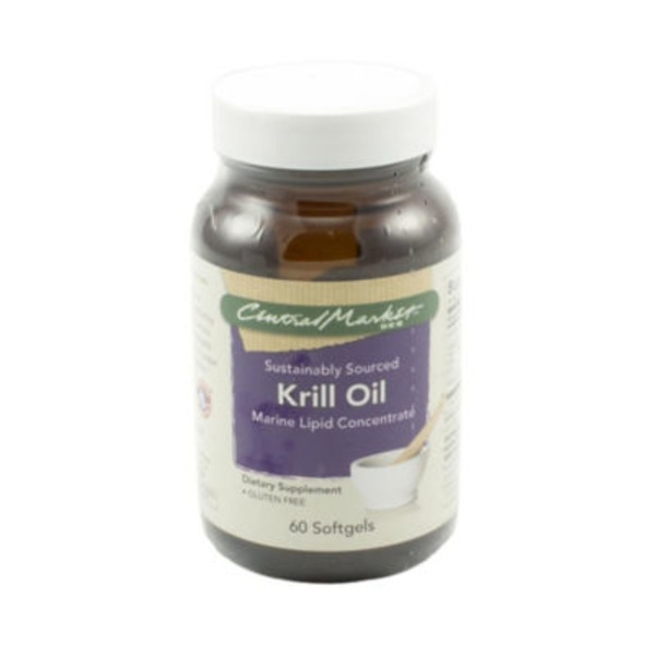 Central Market Krill Oil Softgels
