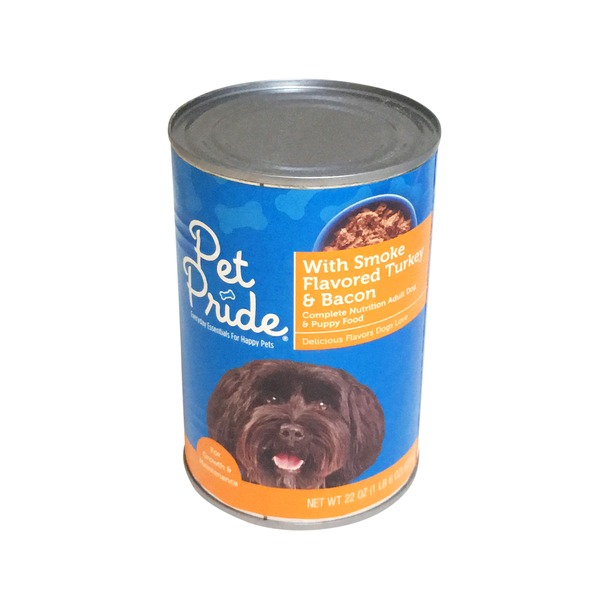 Petes Pride Smoked Turkey And Bacon Wet Dog Food