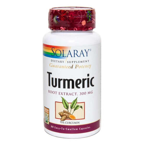 Solaray Turmeric Root Extract 300 mg Capsules