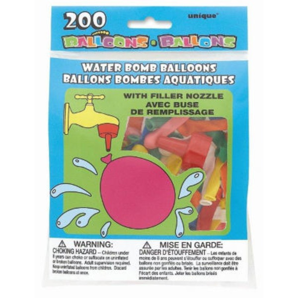 Unique Water Bomb Balloons & Nozzle