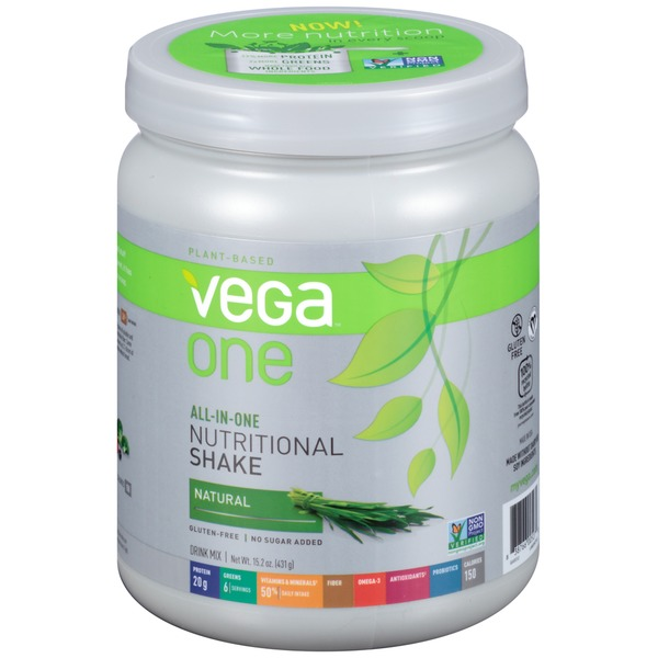 Vega One Natural Nutritional Shake Drink Mix