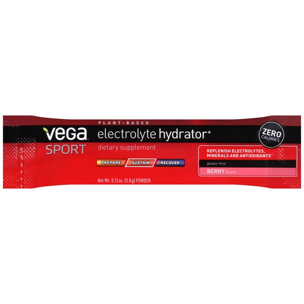 Vega Sport Electrolyte Hydrator Berry Dietary Supplement
